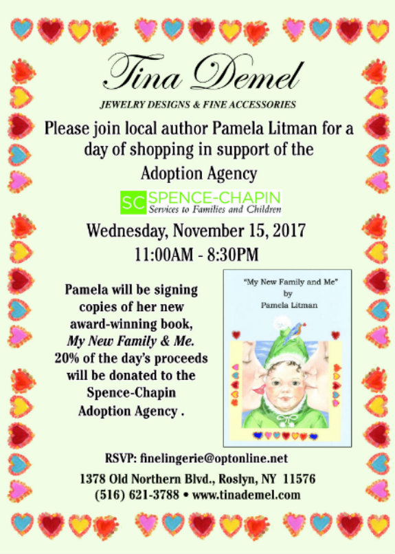 Author Appearance and Book Signing: Pamela Litman